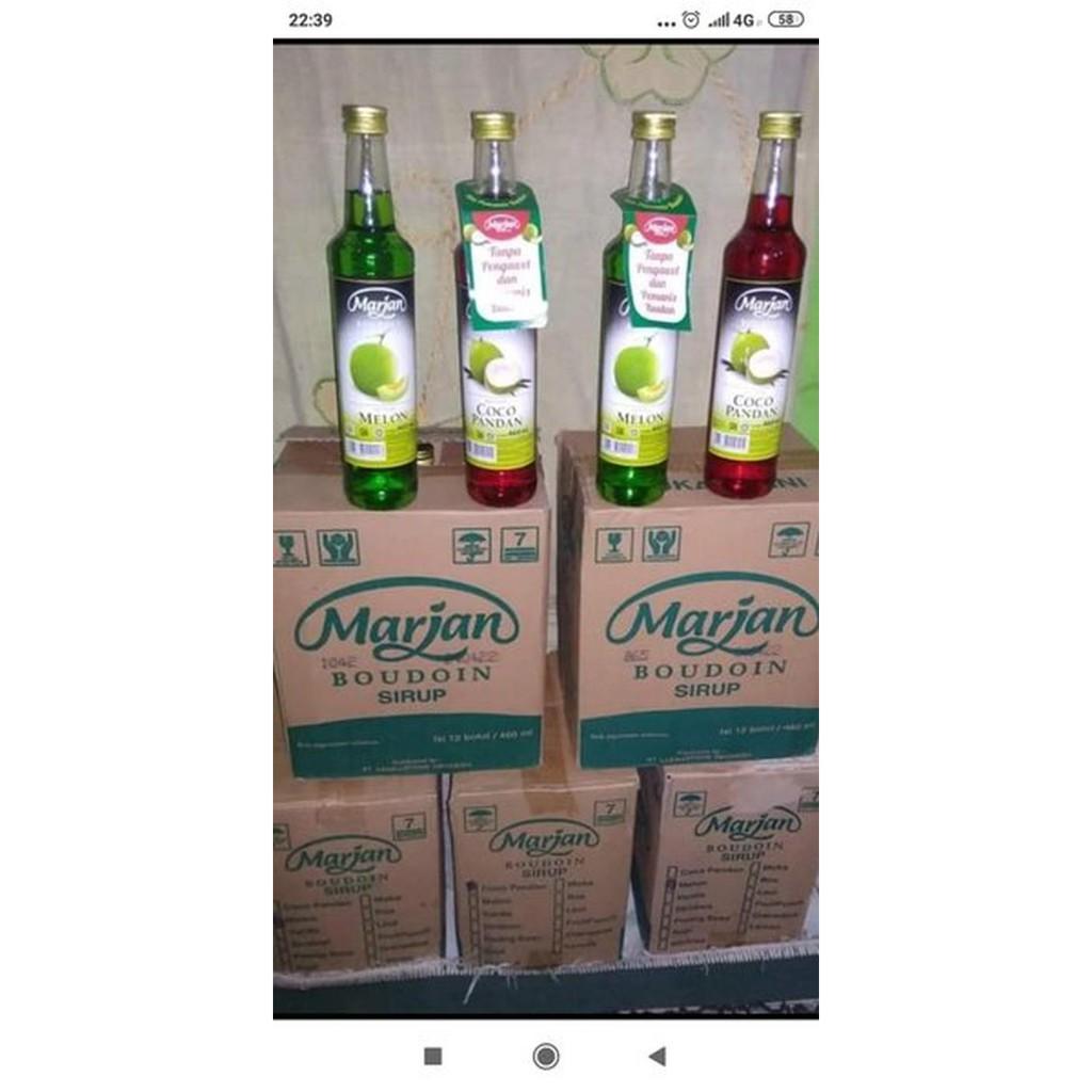 Sirup MARJAN 460 ML - 1 Dus Isi 12 Botol