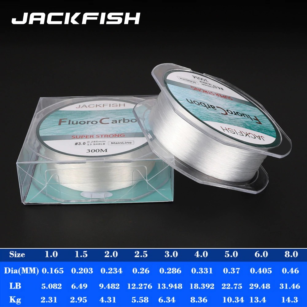 Fishing Line Fluorocarbon Synthetic Ocean Beach Fishing  Carbon Fiber Leader Fly