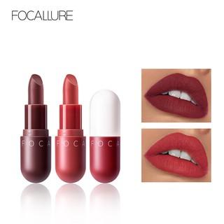 Focallure Lipstick Matte Bentuk Kapsul Anti Air Tahan Lama Mudah Diaplikasikan thumbnail