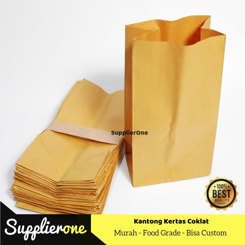 Kantong Kertas Coklat Paper Bag Coklat Kantong Kertas Samson