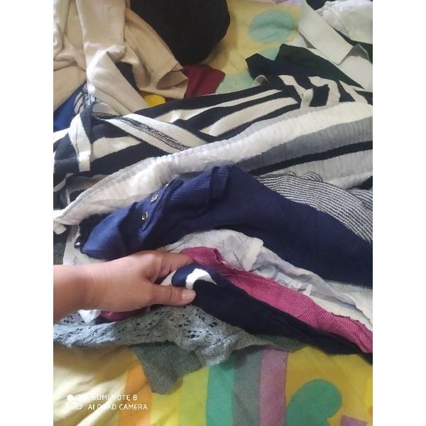 preloved atasan baju wanita paket usaha ball segel import thrift kardigan blouse korea