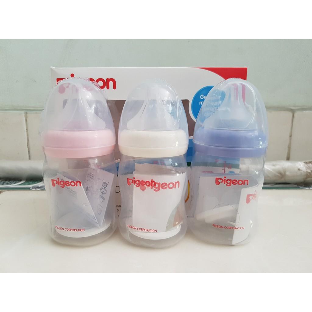 Info Harga Berapa Pigeon Standard Assort Botol Susu Bayi Biru 50 Ml Perilstatik Plus 160 Wide