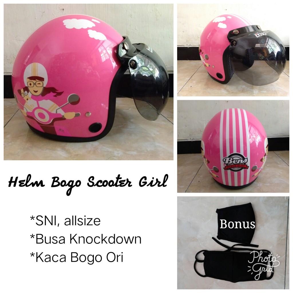 Produk Terlaris Helm Retro Bogo Pria Wanita Motif Warna Coklat Krem Kulit Untuk Dewasa Dan Murah Sni Shopee Indonesia