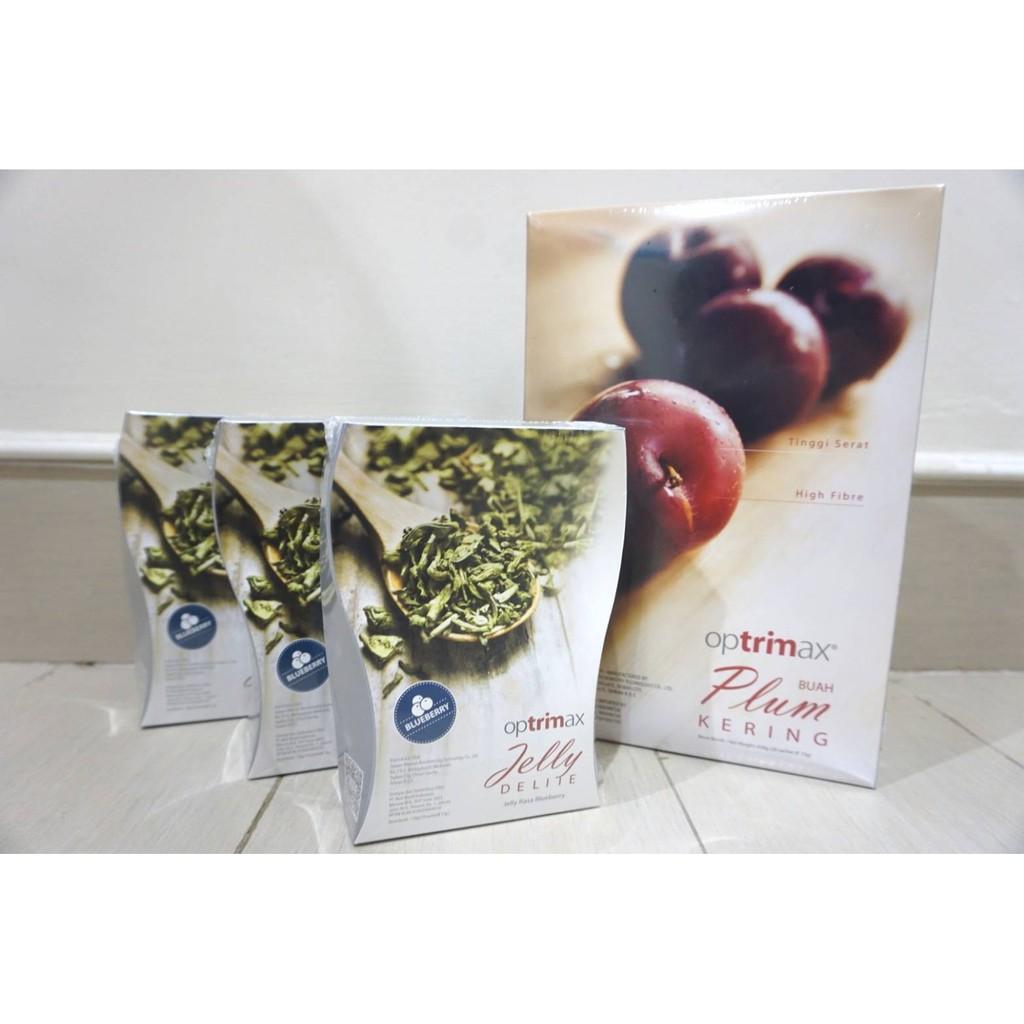 Paket Diet Optrimax Plum Dan Jelly Delite Original Shopee Indonesia
