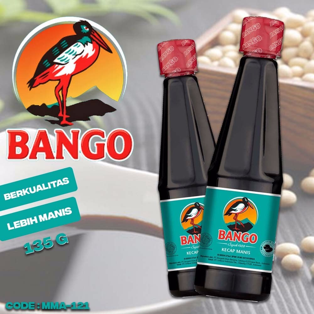 Kecap Bango Manis Mini 135 Ml 8990121011073 Shopee Indonesia Khusus Gosend