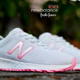 Sepatu NB Perempuan New Balance Fresh Foam Woman Sepatu Olahraga ... 53c5628136