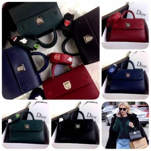 Tas Dior Diorever Leather BB SS18 With Pin Strap  1798  5479e25559