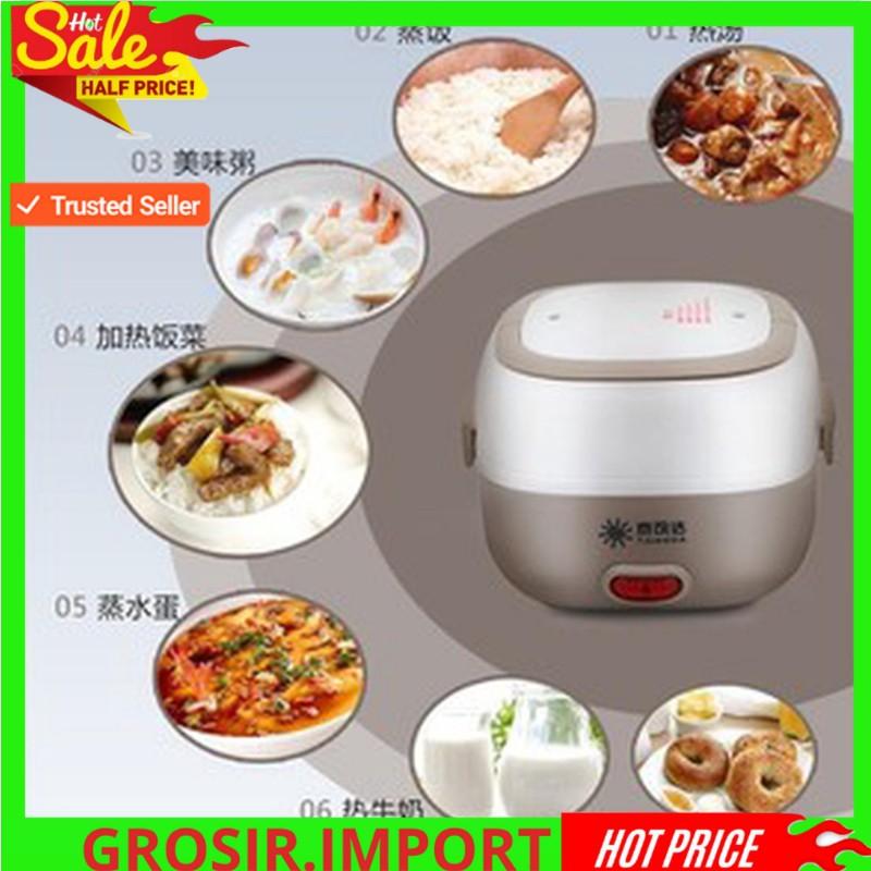 Terbaru Taikeda Mini Rice Cooker Taikeda Lunch Box Electronic Egg Boiler Bahan Stainless Termurah Shopee Indonesia