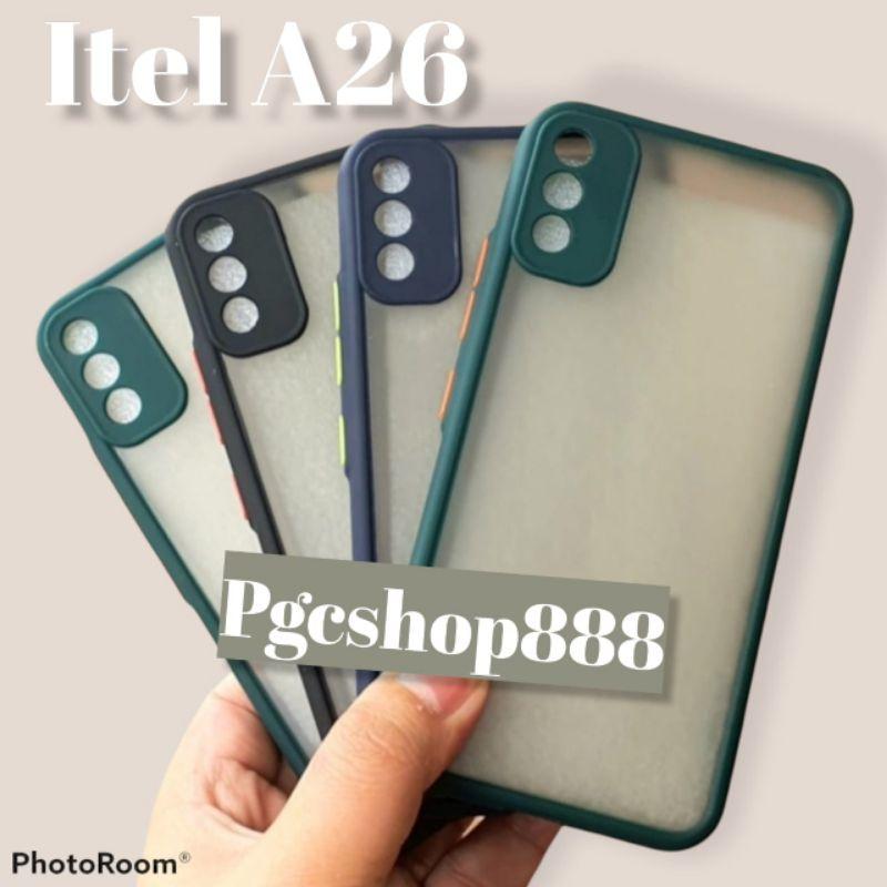 case aero bumper Itel A26/Case my choice Itel A26