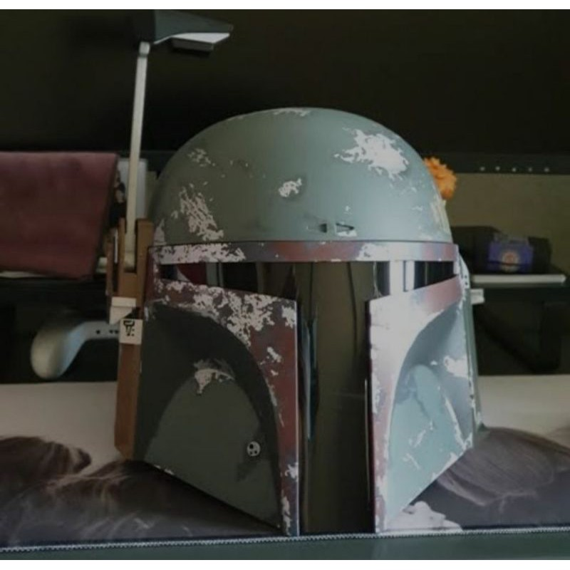 Helm Star Wars Hasbro Black Series Helmet Boba Fett Action Figure Not Hot Toys Darth Vader Shopee Indonesia