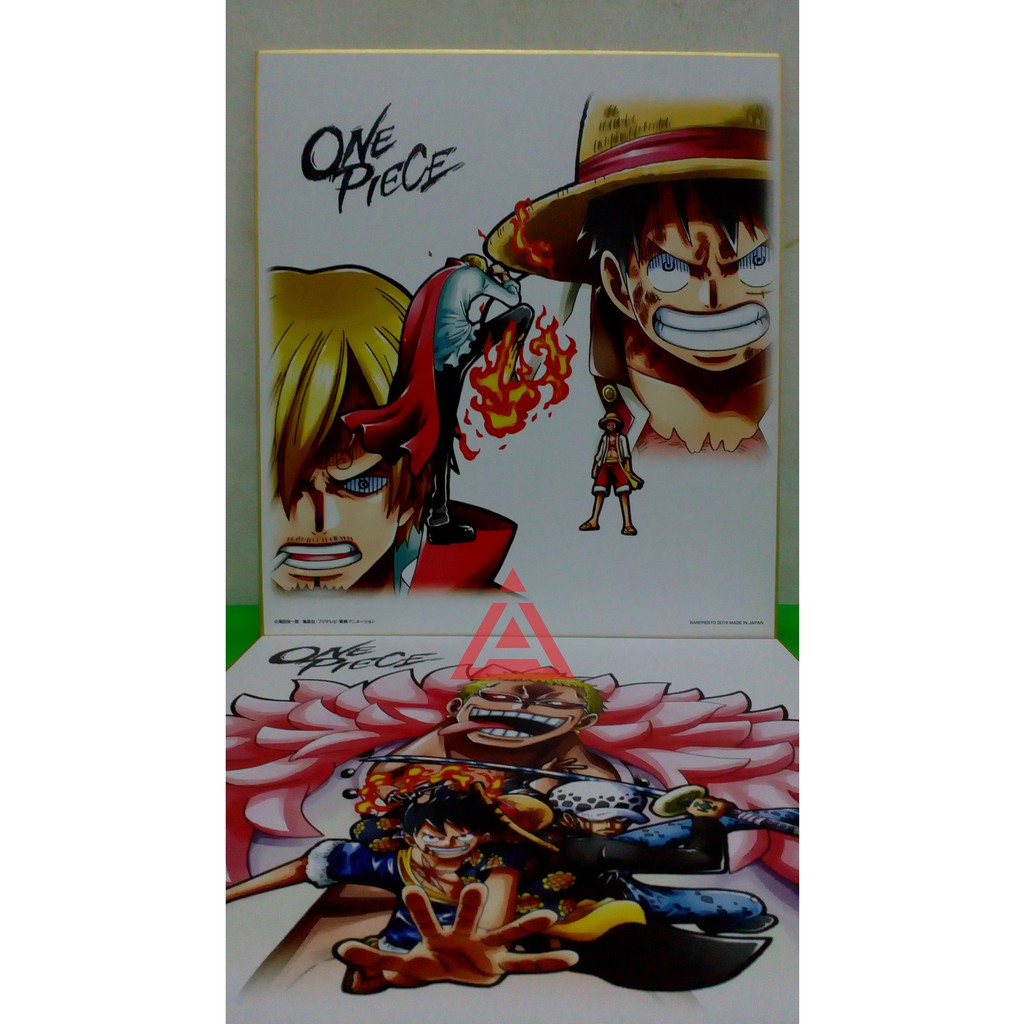 Ichiban Kuji Ikuji Color Board Battle Selection Luffy Vs Sanji One Piece Shopee Indonesia