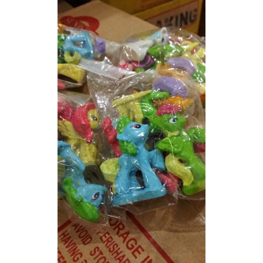 Terbaru Topper Little Pony Hiasan Kue Tart Isi 6pcs Figure Set Cake Disney Tsum Patung Dan Boneka Shopee Indonesia