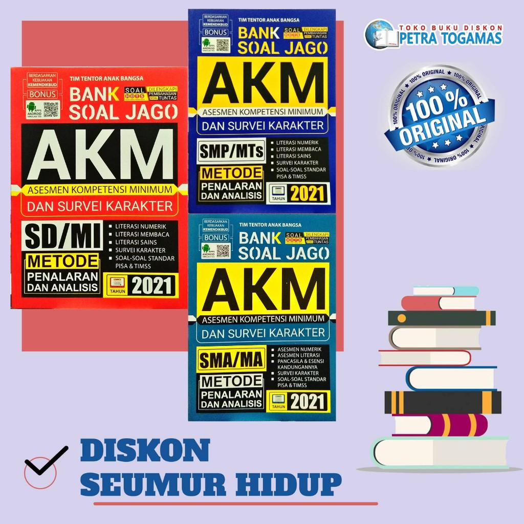 Bank Soal Jago Akm Asesmen Kompetensi Minimum Dan Survei Karakter Sd Smp Sma 2021 Shopee Indonesia