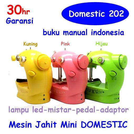 L88 MESIN JAHIT MINI PORTABEL LAMPU LED GT-202 / FHSM-202 FREE ONGKIR | Shopee Indonesia