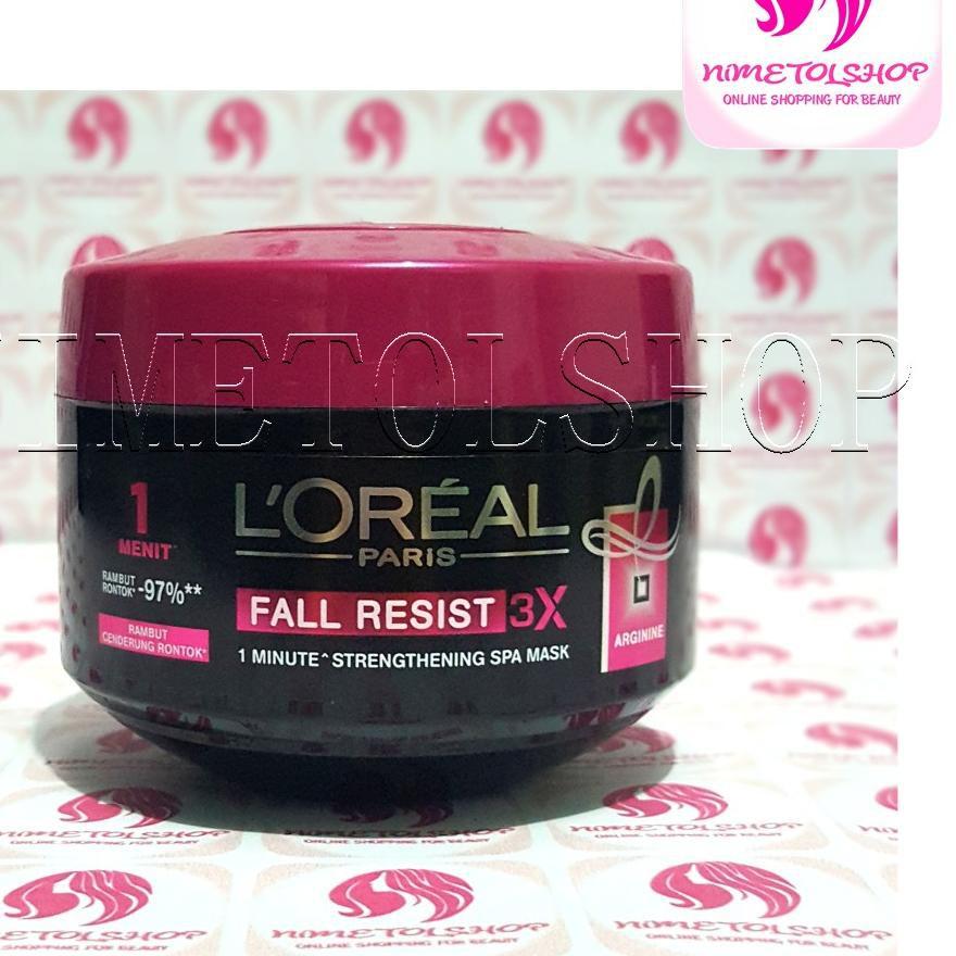 Best Seller Loreal Fall Resist Hair Mask 200ml Masker Rambut Rontok L Oreal Terbaik Shopee Indonesia