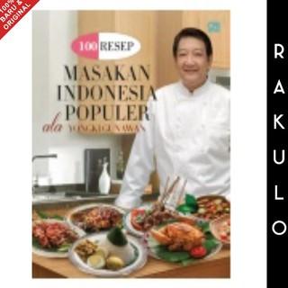 Buku 100 Resep Masakan Indonesia Populer Ala Yongki Gunawan Shopee Indonesia