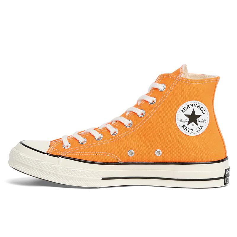Sepatu Sneakers Converse chuck taylor all star 70 vintage canvas hi total orange original 167700C