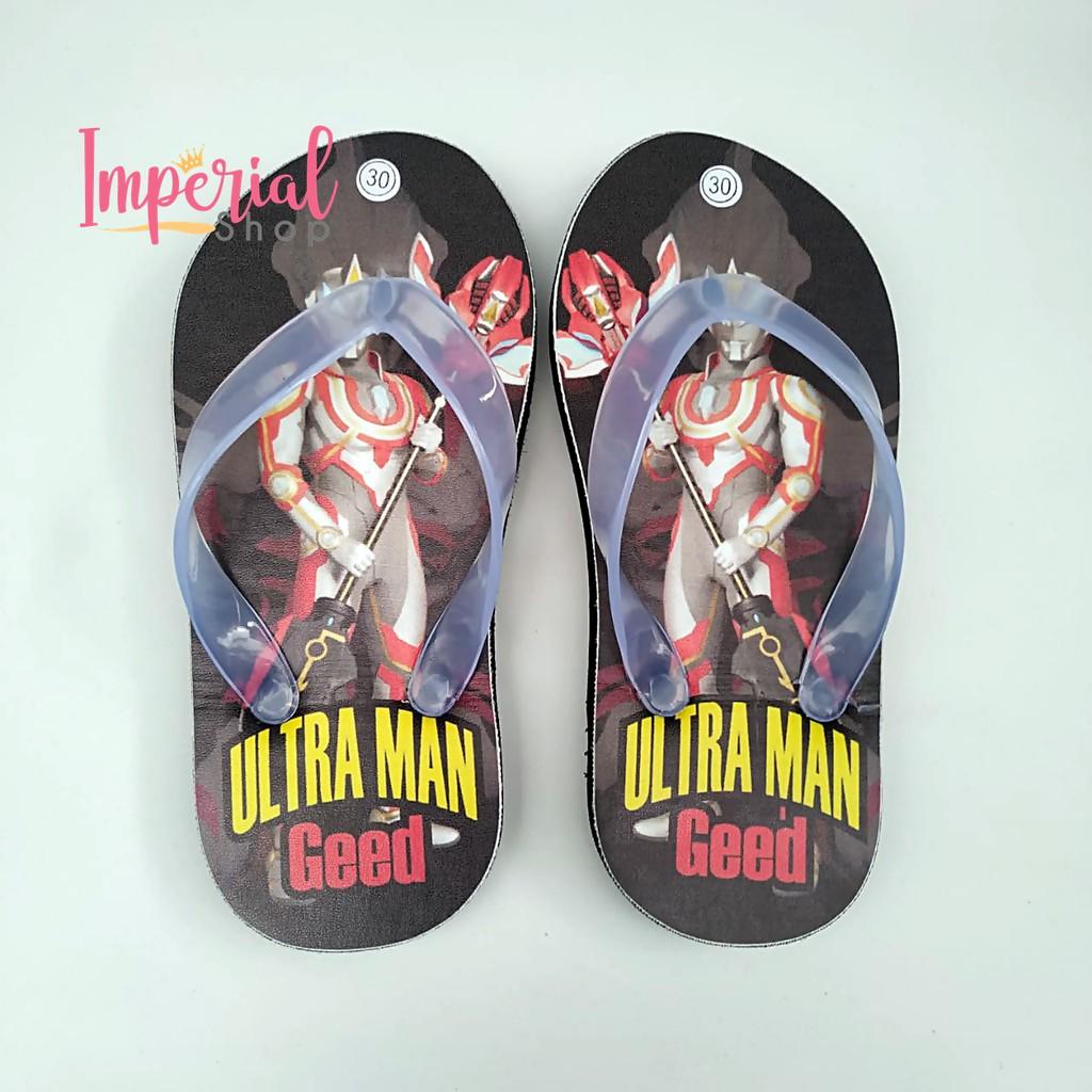 Sendal Jepit Anak Laki Laki Karakter Ultraman Sandal Capit Lucu Ultra Man Kartun Super Hero Hitam Shopee Indonesia