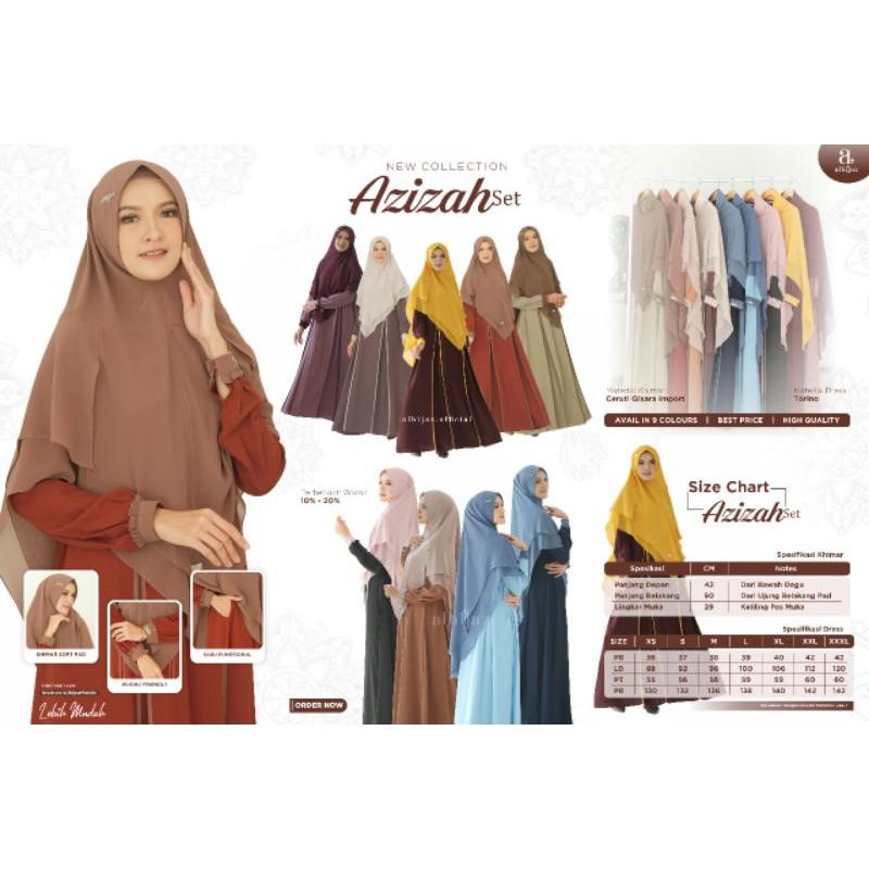 Azizah set ORI by alhijaz