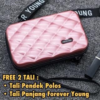 c9887408a399 LB 587 - Forever Young Brand Mini Koper Bag - TAS WANITA - TAS IMPORT - Mini  Koper Kulit 266
