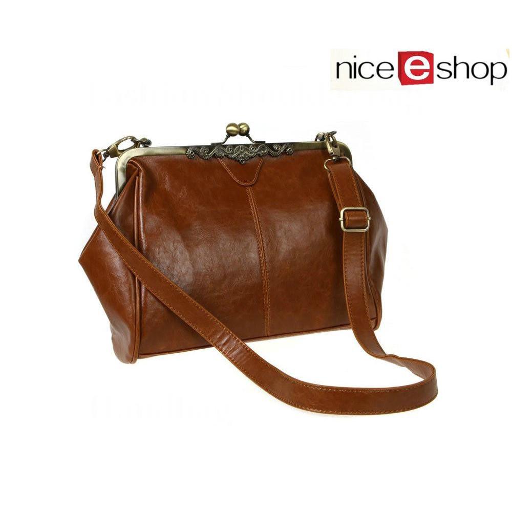 Tas Handbag / Selempang Wanita Aksen Rumbai Warna Coklat   Shopee Indonesia