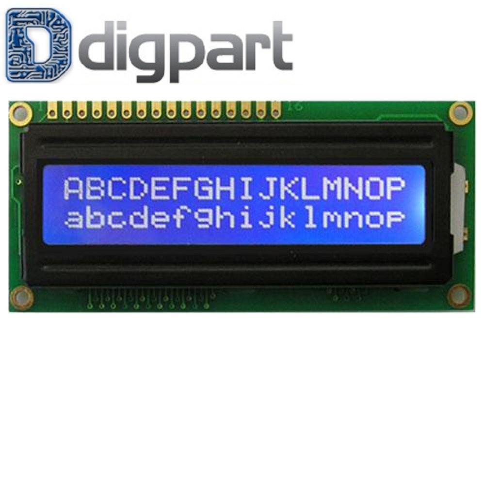 Modul Iic I2c Serial Interface Module Lcd 1602 2004 High Quality 16x2 Blue Backlight  And Shopee Indonesia