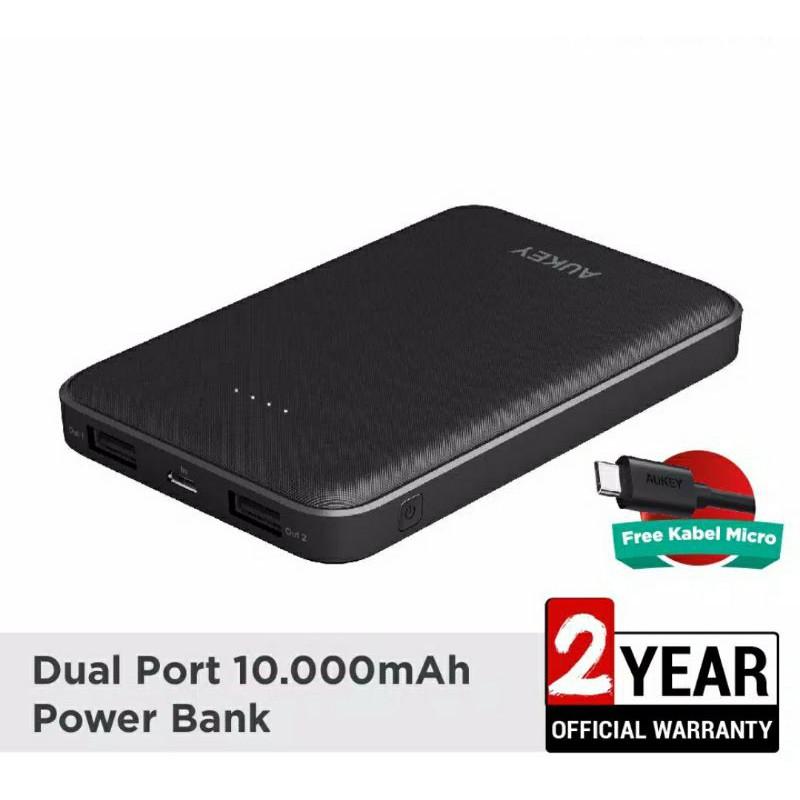 Powerbank AUKEY ori/ PB Aukey / Aukey Garansi Resmi / Powerbank Murah