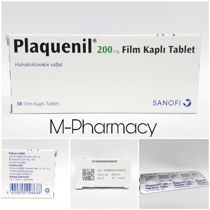 genérico plaquenil 200mg tableta