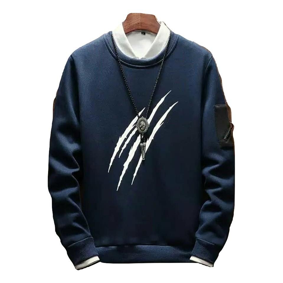 Sweater Pria Body Rasp Sweater Fleece | Shopee Indonesia