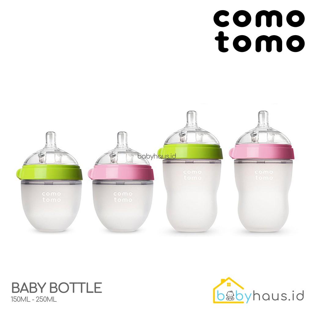 Comotomo Baby Bottle Single Pack 150 Ml Pink