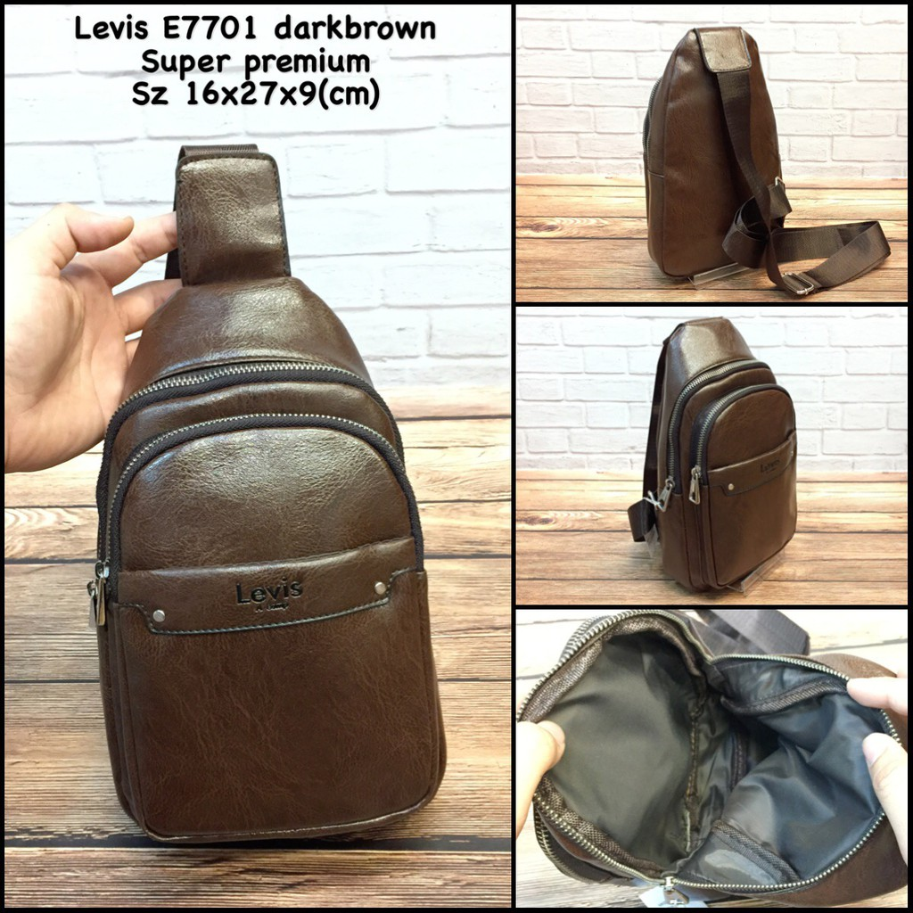 tas levis 7988 replica tas cowok tas pria tas murah tas slingbag tas import  tas laki tas kulit  ed1696cccd