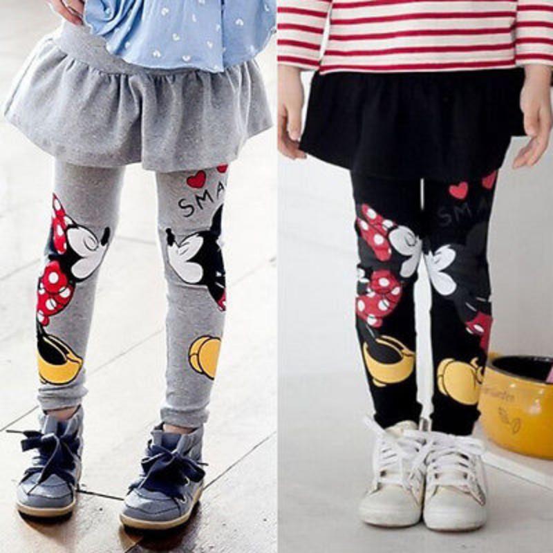 Celana Legging Panjang Motif Print Kartun Bahan Katun Untuk Bayi Anak Perempuan Shopee Indonesia