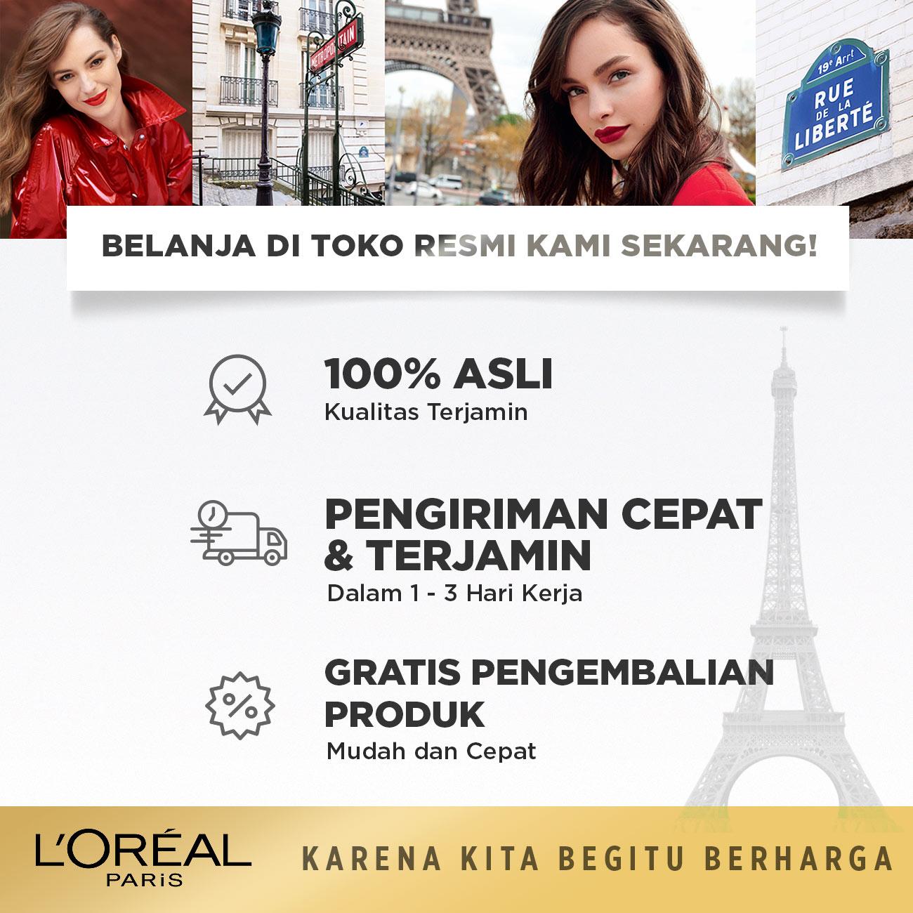 L'Oreal Paris Total Repair 5 Shampoo Hair Care - 450 ml (Perawatan Rambut Rusak dan Mudah Patah)-4