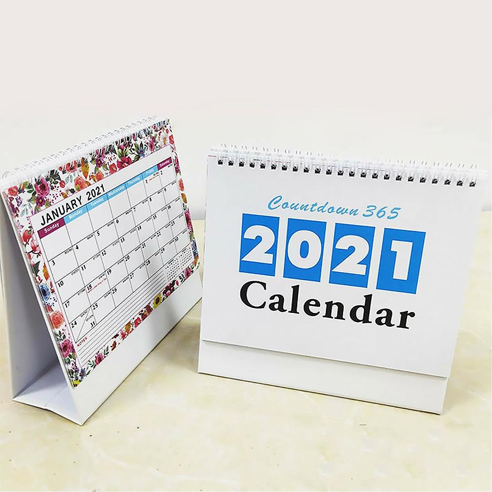 Kalender Meja Countdown 2021 Portable Bisa Ditulis Shopee Indonesia