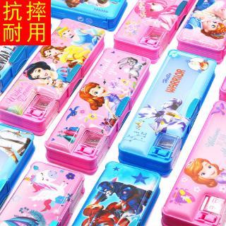 kotak pensil motif kartun lucu gaya korea untuk anak