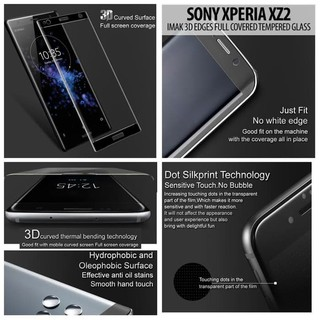 Sony Xperia Xz2 - Imak 3D Edges Full Covered Tempered G Limited Murah | Shopee Indonesia