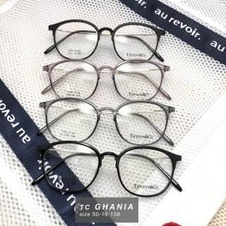 Frame kacamata Ghania round pria wanita minus plus silinder anti radiasi  lentur a0eb9c581d