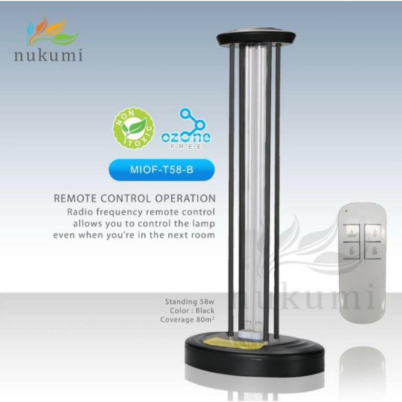 Nukumi Lamp UV Standing - MIOF T58 -B Ozone Free oF*521