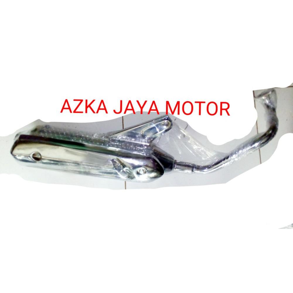 Knalpot Satria 2 Tak Standart Racing Crhome Kjk Shopee Indonesia Pdk R 120