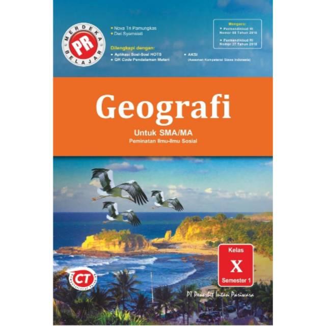 Buku Lks Pr Geografi Kelas X 10 Semester 1 K13 Revisi Cetakan 2020 Shopee Indonesia