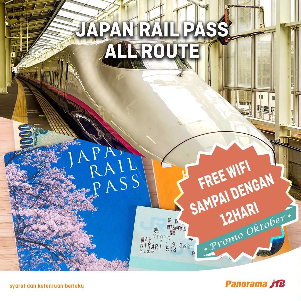 Japan Rail Pass Shopee Indonesia Jr Tokyo Osaka Hokuriku Arch Dewasa