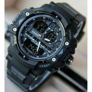 Jam Tangan Pria Casio Gshock G8600 Full Black  8ba56e090e