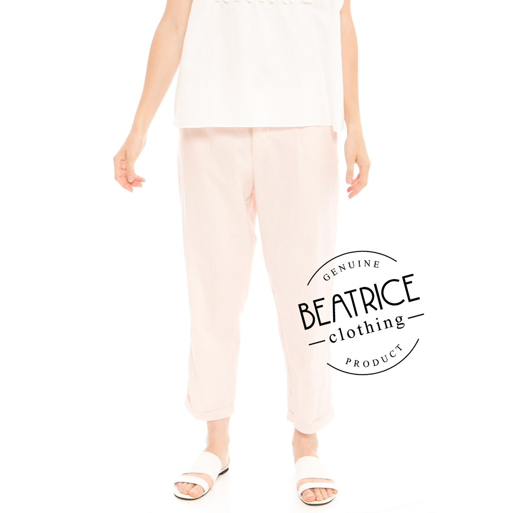 Beatrice Clothing Long Sleeve Kanaka Slampadan Red On Shopee Alila Culottes In Benji Navy Indonesia