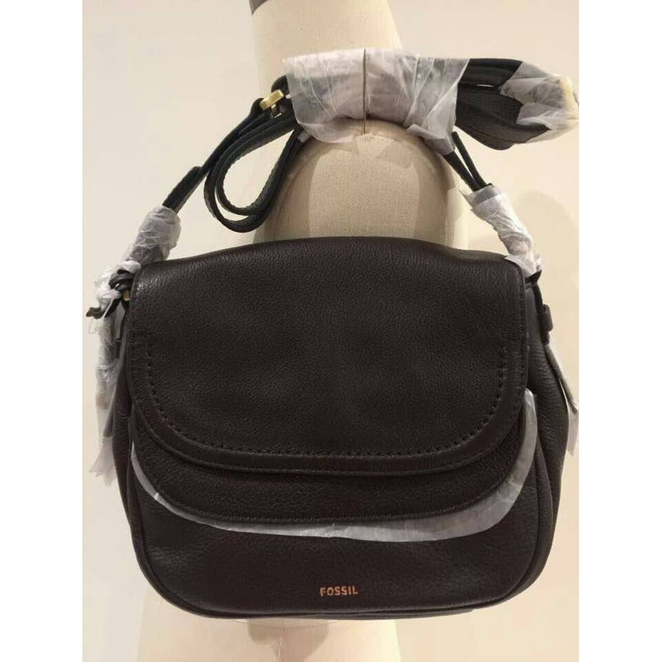Fossil Kendall Crossbody Multy Brown Shopee Indonesia Navy