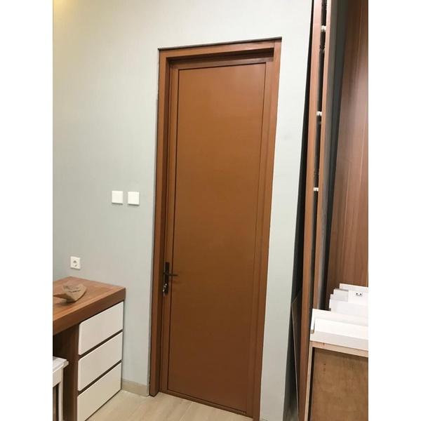 Pintu Kamar Mandi Aluminium kombinasi ACP