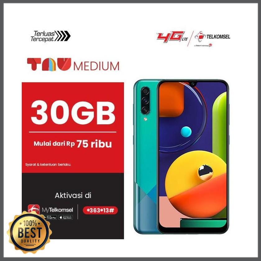 Samsung Galaxy A50s 6gb 128gb Bundling Tau Entertainment Medium Telkomsel Expert Brand Shopee Indonesia