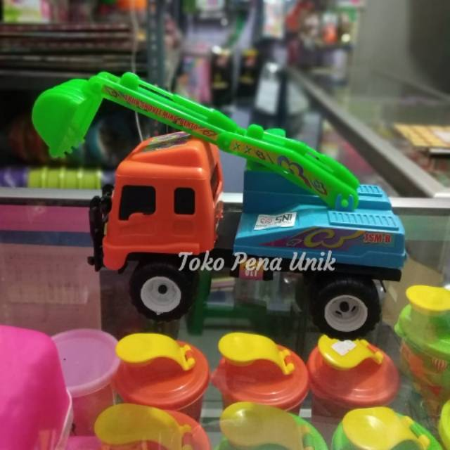 Mainan Mobil Truk Beko Escavator Mobil Keruk Mobil Mobilan Mainan Anak Anak Mainan Murah Shopee Indonesia