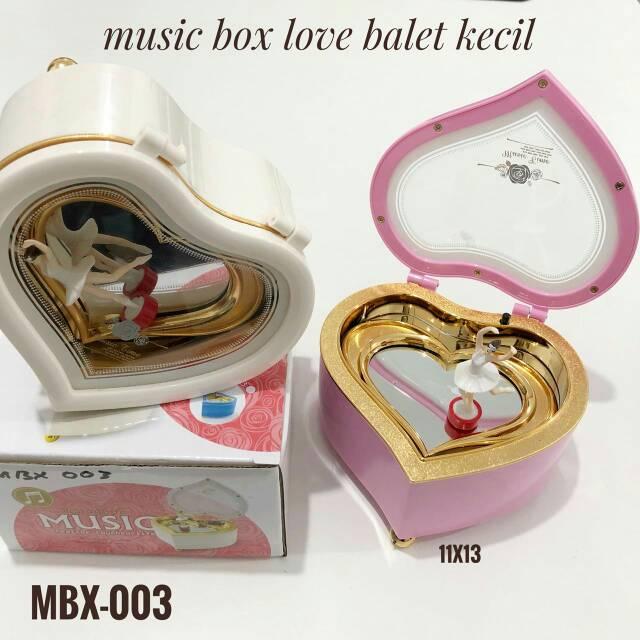 Kotak Musik Love Ballerina / Music Box Double Love Ballerina | Shopee Indonesia