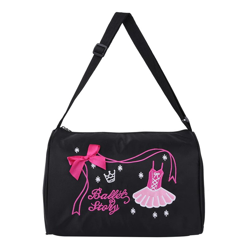 Ballet Bags Gym Embroidery Backpack
