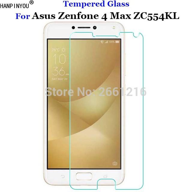 Premium tempered glass ASUS ZENFONE 4 MAX ZC520KL Anti gores kaca 2.5D   Shopee Indonesia